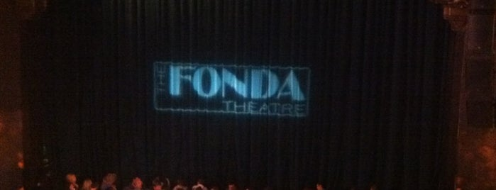 The Fonda Theatre is one of SoCal Shops, Art, Attractions.