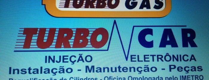 Turbo Gás is one of Lieux sauvegardés par Guia.