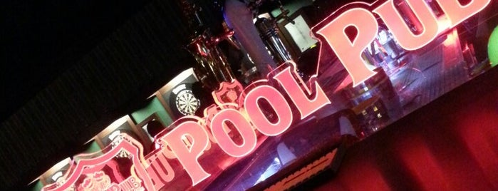 Pool Pub is one of Ekrem 님이 저장한 장소.