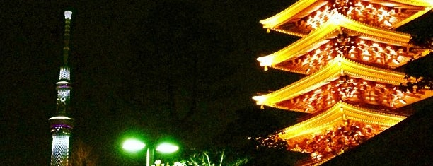 Five-storied Pagoda is one of Tokyo.