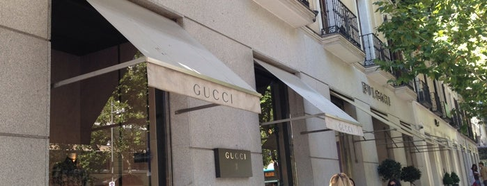 Gucci is one of Madrid.