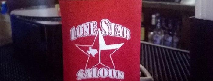 Lonestar Saloon is one of Orte, die Melissa gefallen.