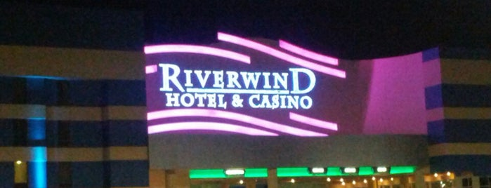 Riverwind Casino is one of okc.