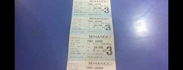 Semanggi 21 is one of Must-visit Movie Theaters in Jakarta Selatan.