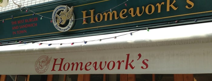 Homework's is one of Tokyo: eat & drink.