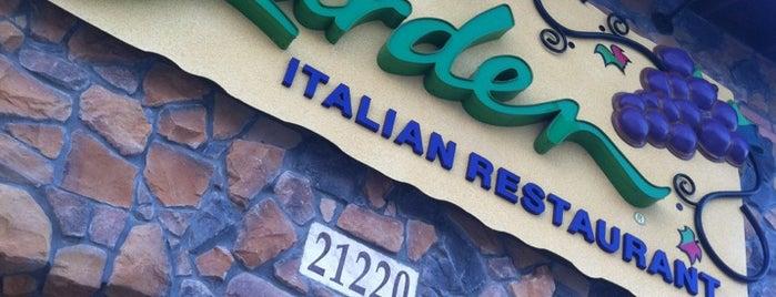 Olive Garden is one of สถานที่ที่ Miguel ถูกใจ.