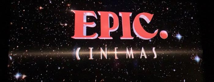 Epic Cinemas is one of สถานที่ที่ Daniel ถูกใจ.