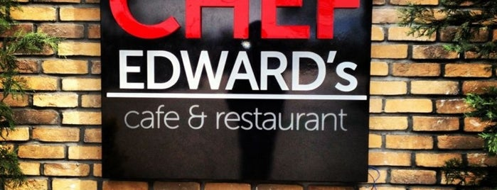 Chef Edward's is one of Posti che sono piaciuti a Mehmet.