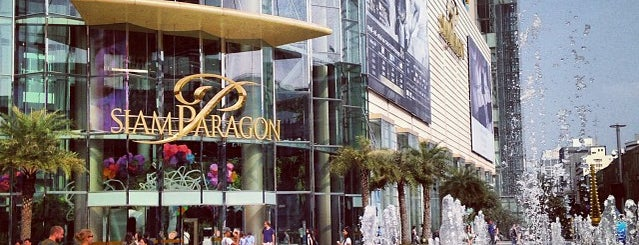 Siam Paragon is one of Middle East.