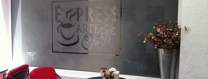 Express Arte Caffe is one of Alex'in Beğendiği Mekanlar.