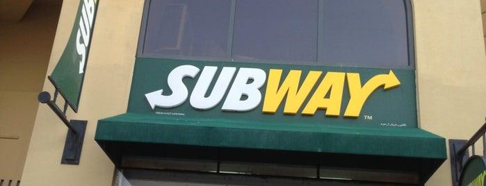 Subway is one of Food in Dubai, UAE.
