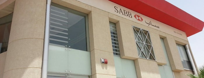 SABB Bank is one of Lugares favoritos de Mohammed.