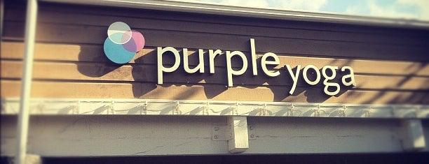 Purple Yoga is one of Little hillz + s. Bay.