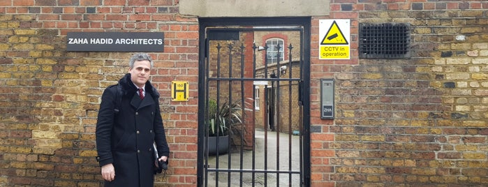 Zaha Hadid Architects is one of Paris/London 2017.