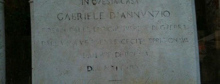 Ormeggio Casa D'Annunzio is one of Venezia.