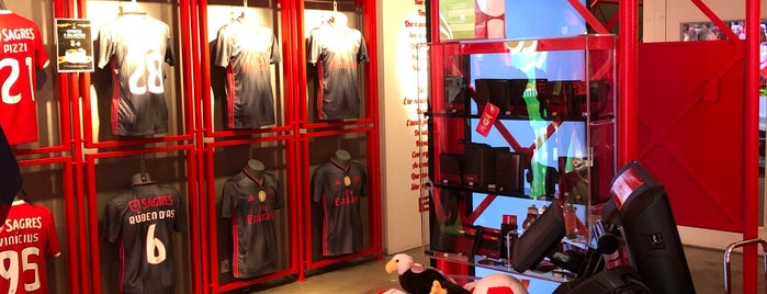 Benfica Official Store Chiado is one of Portugal Road trip.
