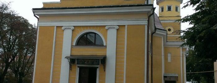 Собор Успіння Пресвятої Богородиці (УГКЦ) is one of Культові споруди Чернівців.