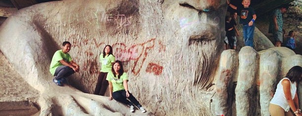 The Fremont Troll is one of Seattle Faves.