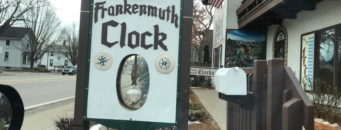 Frankenmuth Clock Company is one of Ben's Liked Places.