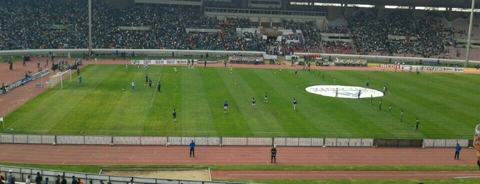Complexe Mohammed V is one of International Sports~Part 1....