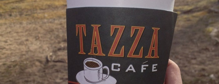 Tazza Cafe is one of Westchester.