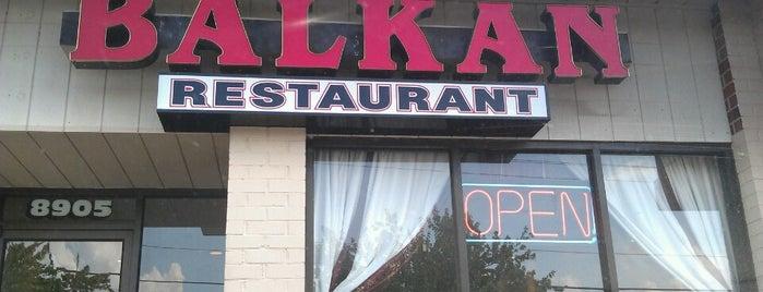 Balkan Restaurant is one of Lieux qui ont plu à E.