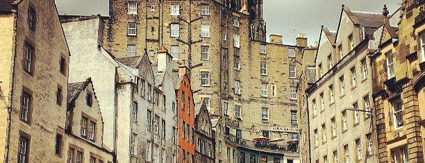 Grassmarket is one of Edinburgh mit Mum.