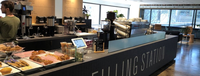 Filling Station Coffee Garage is one of Do: Kansas City ☑️👌.