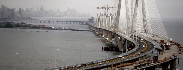 Bandra-Worli Sea Link (राजीव गांधी सेतू) is one of India.