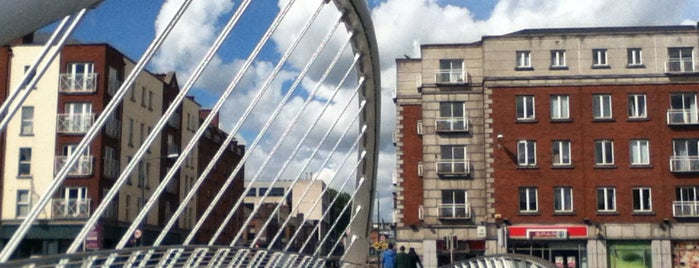James Joyce Bridge is one of Dublin.