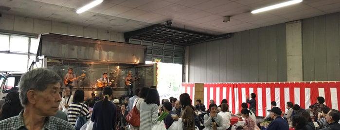 京都府南部総合地方卸売市場 is one of Lugares favoritos de Shigeo.