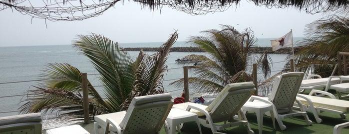 Restaurante El Muelle - Cartagena is one of Cartegena.