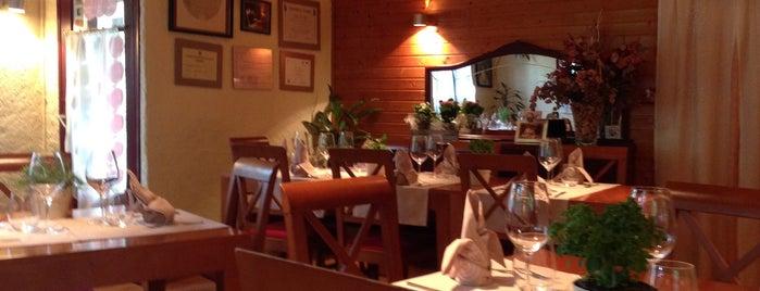 Restaurant Villa Maria (Llesp) is one of Comidos PENINSULA.