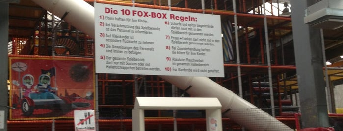 FoxBox Spiel- und Fußballcenter is one of Hotspots Hessen | Spiel & Spaß.