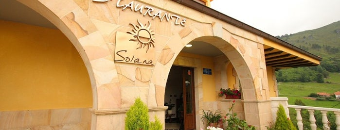 Restaurante Solana is one of ⭐️GALICIA-ASTURIAS-CANTABRIA-C.LEON.