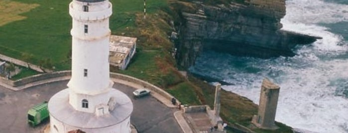 Faro de Cabo Mayor is one of Lugares favoritos de Jose A..