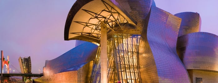 Museo Guggenheim is one of Bilbao.