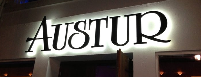 Austur is one of Iceland Bars Restaurants.