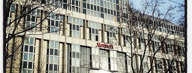 Vienna Marriott Hotel is one of Orte, die Cecilia gefallen.
