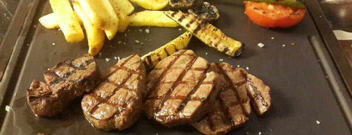 Ayşe Hanım Steak House is one of Locais curtidos por Furkan.