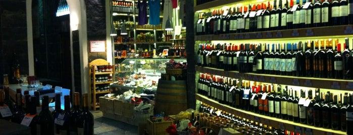 Sensus Şarap & Peynir Butiği is one of yenilesi.