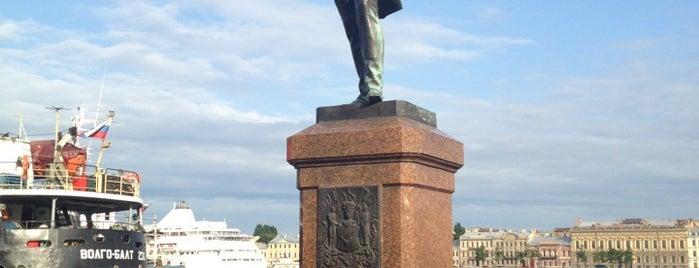 Памятник адмиралу И. Ф. Крузенштерну is one of питер.