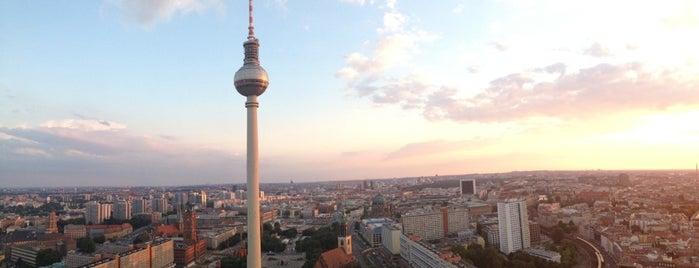 Берлинская телебашня is one of Berlin, Germany.
