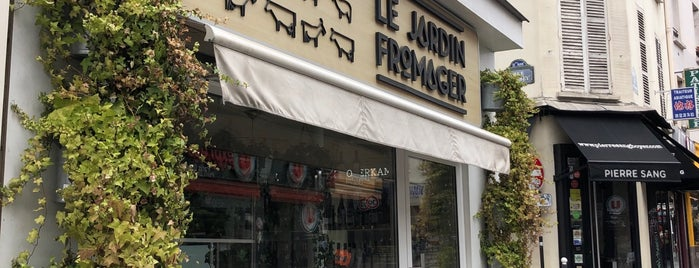 Le Jardin Fromager is one of Always Gourmet   PARIS !.