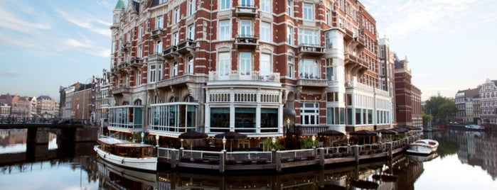 Hotel de l'Europe is one of Amsterdam To Do.