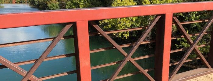Barton Springs Pedestrian Bridge is one of Austin Favs.