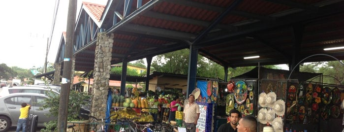Mercado Municipal de El Valle de Antón is one of สถานที่ที่บันทึกไว้ของ Stone.