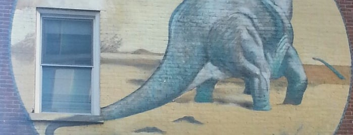 The East Village Dinosaur! is one of NYC.