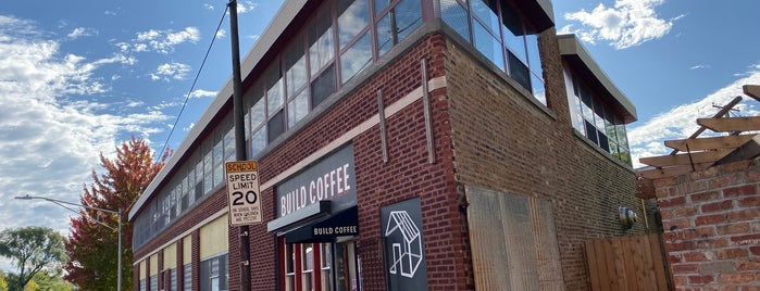 Build Coffee is one of Chicago WBEZ Scavenger Hunt.