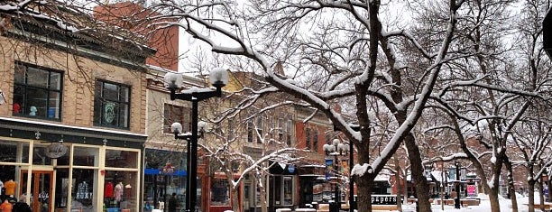 Pearl Street Mall is one of Denver/Boulder.